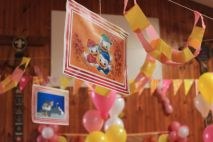Pink_Yellow_White_theme_birthday_party_decoration_09
