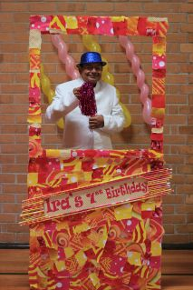 Pink_Yellow_White_theme_birthday_party_decoration_17
