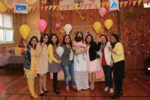 Pink_Yellow_White_theme_birthday_party_decoration_40